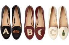 The Charlotte Olympia Alphabet Flats Mix Emojis and Style