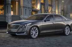 Lightweight Luxury Cars - The Cadillac CT6's Aluminum-Intensive Platform Makes It Very Lightweight