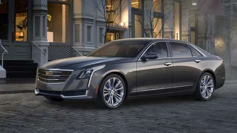 Lightweight Luxury Cars - The Cadillac CT6's Aluminum-Intensive Platform Makes It Very Lightweight