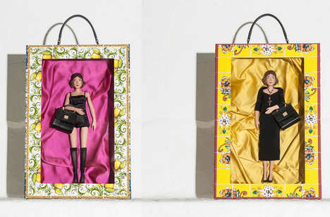 Fashionable Designer Dolls - These Dolce and Gabbana Dolls are Style-Conscious Collectibles