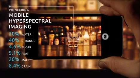 Object-Detecting Smartphone Cameras - The Unispectral Camera Uses Hyperspectral Imaging