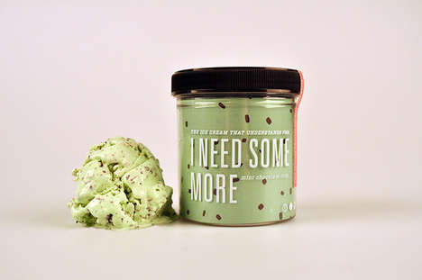 PMS Ice Cream - Three Creamy Desserts Speak to Moody Women During That Time of the Month