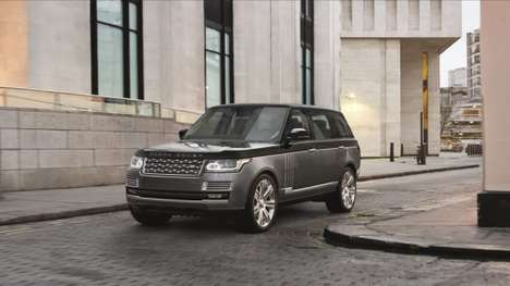 Flagship British Vehicles - The Range Rover SVAutobiography is Land Rover's Most Luxurious Offering