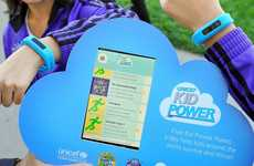 Charitable Fitness Bands - UNICEF's Kid Power Bands Empower Kids to Do Good for Others