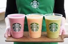 Cold-Pressed Product Expansions - The Starbucks Evolution Fresh Smoothies Includes a Kale Drink