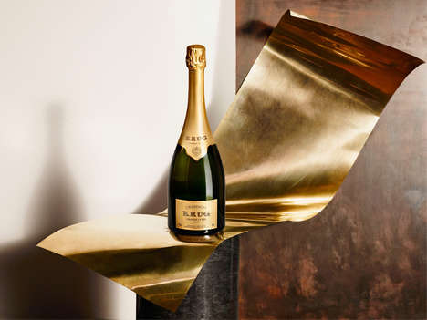 Music-Pairing Bubbly Apps - The Krug Champagne App Uses Science to Appeal to the Senses