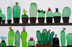 Upcycled Plastic Sculptures