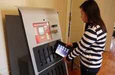 Tech-Lending ATMs - Drexel University Has Introduced an iPad Vending Machine for Rentals