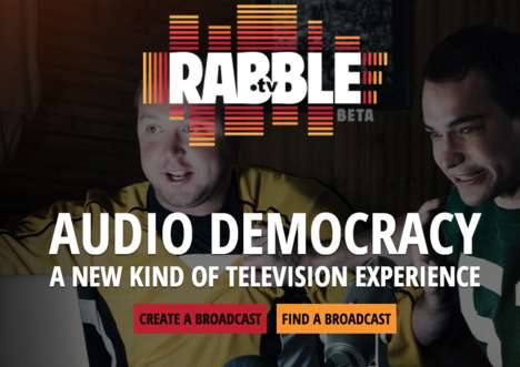 Fan Sportscaster Platforms - Rabble Invites Sports Enthusiasts to Broadcast Matches for Each Other