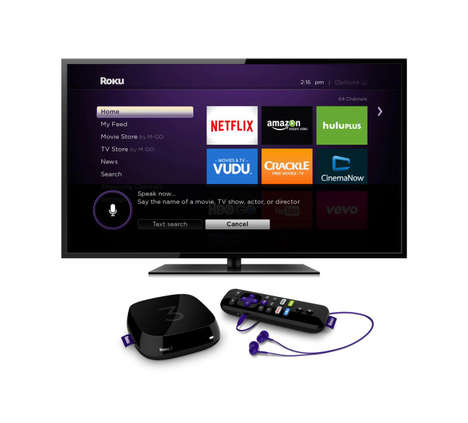 Updated Streaming Boxes - The Speedier Roku 2 and Roku 3 Have Impressive Interactive Search Tools