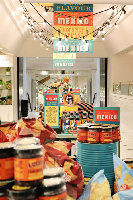 Department Store Fiestas - The Selfridge's x Mexico Campaign Features 10 Weeks of Festivities