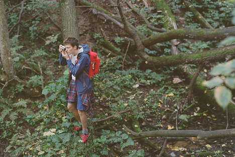 Urban Hiking Editorials - This FOTT X North Face Editorial Takes on Moscow on Foot