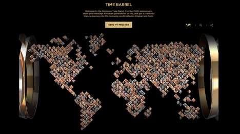 Branded Digital Caches - The Time Barrel Project Celebrates the Hennessey 250th Anniversary