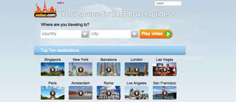 Localized Video Travel Guidebooks - Ditch Hefty Travel Guide Books for These Convenient Videos