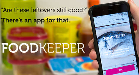 Food Conservation Apps - The FoodKeeper App Minimizes Waste with Cooking and Storage Tips