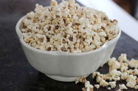 Nutty Powdered Popcorn - Melissa d'Arabian's Peanut Butter Popcorn Gets Flavor from Peanut Powder