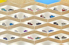 Automated Footwear Displays