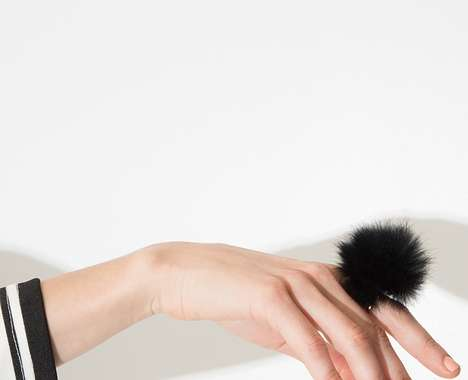 Furry Statement Rings
