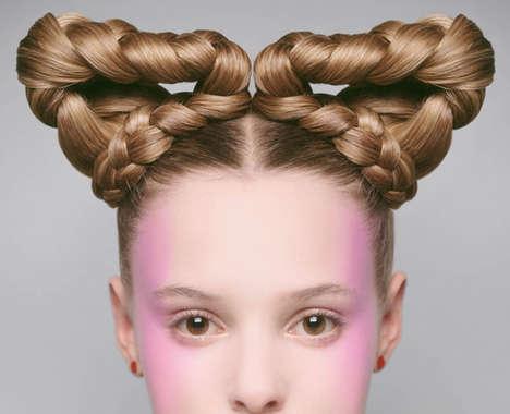 Futuristic Hair Editorials