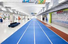 Designer-Furnished Airports - Japanese Lifestyle Brand Muji Decorated Narita Airport's New Terminal