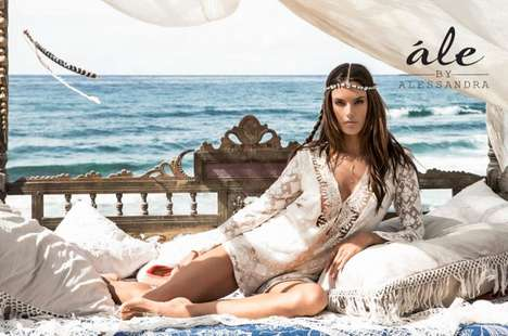 Boho Collaboration Collections - The Ale by Alessandra Fashion Line is Created with Planet Blue