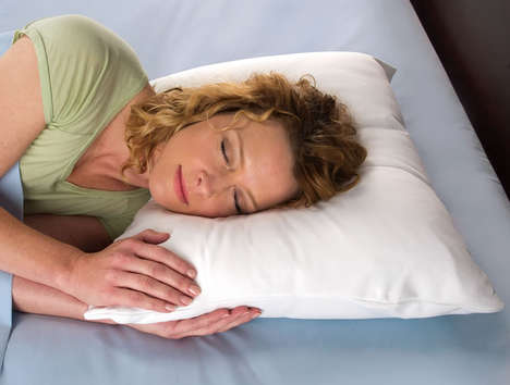 Anti-Aging Pillows - Hammacher Schlemmer's Wrinkle Prevention Pillowcase Reduces Creases