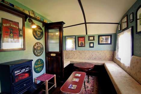 Portable Irish Pubs - The Shebeen is a Nifty Pub On Wheels
