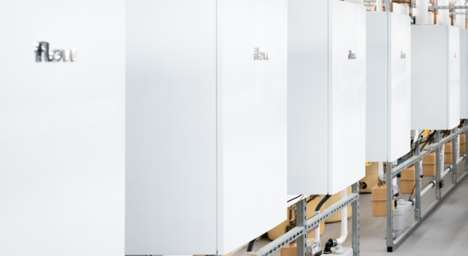 Energy-Generating Boilers - This Flow Energy Smart Boiler Heats Your Home and Generates Electricity