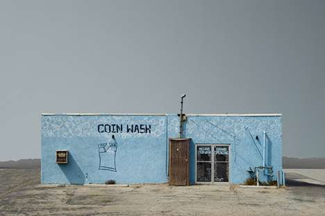 Remote Suburban Photography - Ed Freeman Eerie Images Feature Abandoned Stores and Businesses
