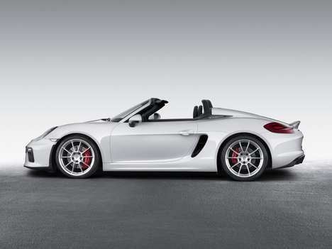 Purist Sports Cars - The Porsche Boxster Spyder Has a Purist Design and Modern Performance