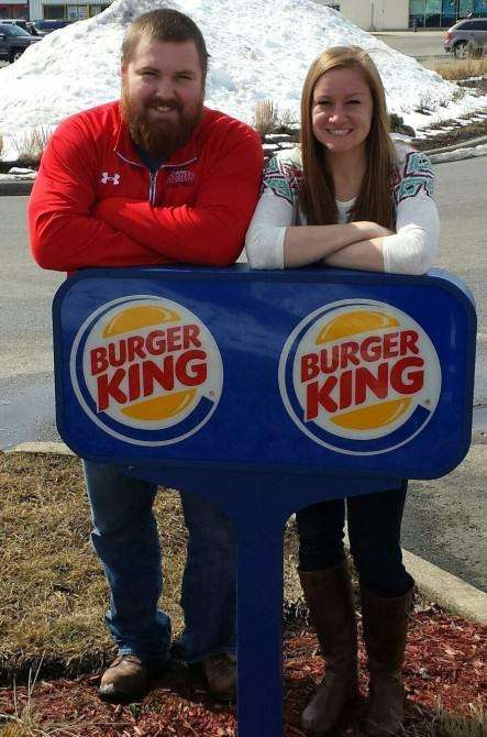 Fast Food Weddings - Burger King Covers the Cost of an Illinois Couple's Burger-King Wedding