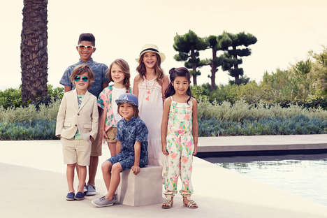 Sustainable Kid Fashion - The H&M Spring Party Collection Features Eco-Friendly Fabrics
