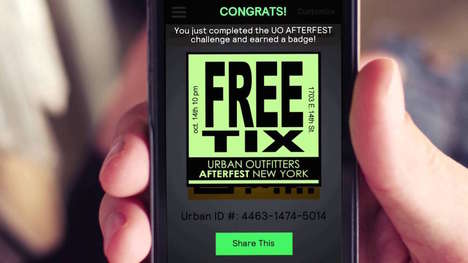 In-Store Customization Apps - The Urban Outfitters App Has Exclusive Offers and Insider Events