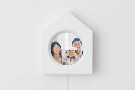 Photo Collage Clocks - The 'Memory Clock' Concept Tells Time While Sharing Precious Memories