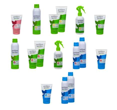 Biodegradable Organic Sunscreens - Goddess Garden Produces a Line of All-Natural Sunscreens