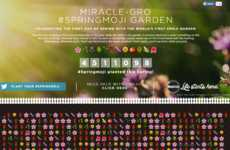 Blossoming Emoji Gardens - Miracle-Gro's Crowdsourced Digital Garden is Made of Floral Icons