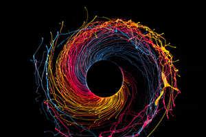 Fabian Oefner's Black Hole Image Series Boasts Vibrant Hues
