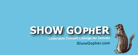 Listenable Concert Listings - 'Show Gopher' Allows Users to Stream Samples Before Making a Purchase