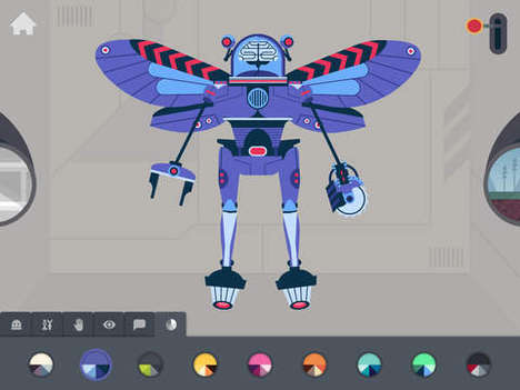 Playful Robotic Apps - The Robot Factory by Tinybop Helps Kids Virtually Build and Test Machines