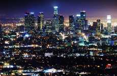 Connected Street Lights - Los Angeles' LED Street Lights Can Be Monitored Online