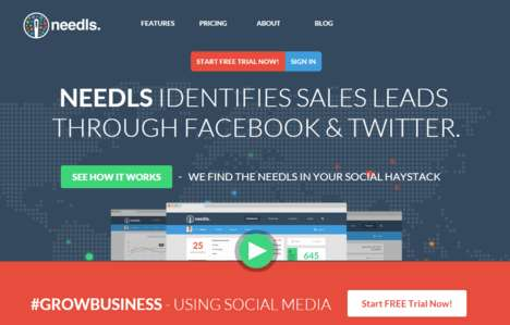 Social Acquisition Tools - Needls Helps Small Businesses Generate Leads with Social Media