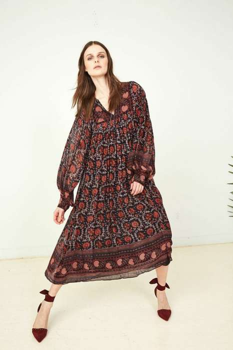 Luxury Bohemian Collections - The Ulla Johnson Fall Collection Features an Upscale Aesthetic