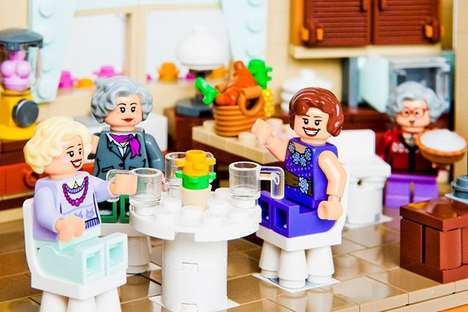 Retro Sitcom Toys - Samuel Hatmaker Pitches a Golden Girls LEGO Set to Be Produced