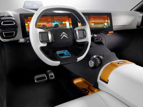 Air-Friendly Cars - The Citroen Aircross Concept Features a Compressed Air Powertrain