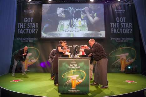 Pouring the Perfect Pint - The Heineken Bartender Final 2015 Serves up a Winner with Star Factor