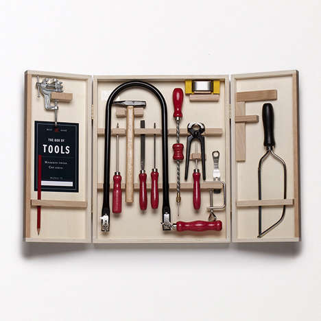 Artisanal Tool Boxes - Best Made Company's Product Features a Myriad of Unique Supplies