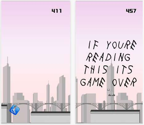 Rap-Inspired Gaming Apps - This Drake Video Game Takes You Running Through the Six