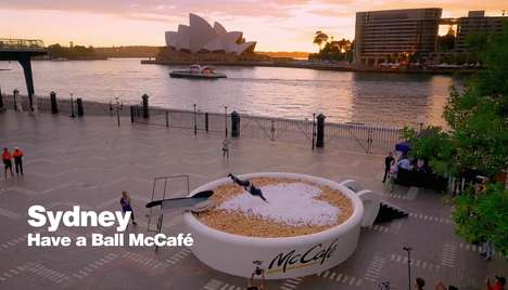 Playful City Installations - McDonald's Shares 24 Gifts of Joy in 24 Cities Around the World