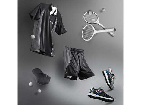 Clay-Court Tennis Apparel - The Adidas Roland Garros Collection Ensures Stylish Performance