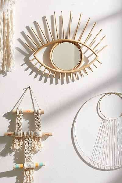 Ocular Wall Decor - The Magical Thinking Open Eye Mirror Celebrates Mystical Style
